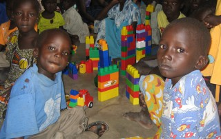 A gift of Lego from children in Blackmore Vale