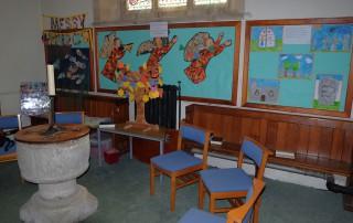 St Nicholas' Child Okeford primary school artwork
