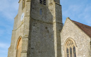 St Nicholas' Child Okeford tower