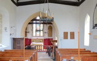 St Paul's Hammoon interior