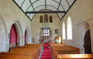 St Nicholas' Manston interior
