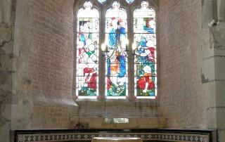 St Andrew's Okeford Fitzpaine interior