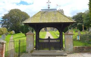 St Andrew's Okeford Fitzpaine lytch gate