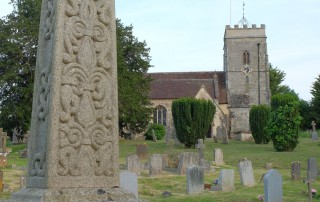 St Andrew's Okeford Fitzpaine war memorial