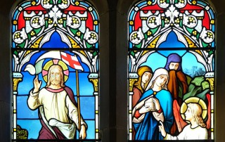 St Andrew's Okeford Fitzpaine window