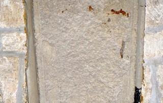 Holy Rood Shillingstone Saxon coffin lid