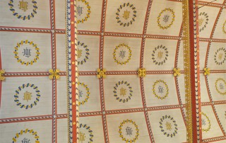 Holy Rood Shillingstone ceiling