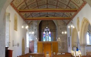 Holy Rood Shillingstone interior