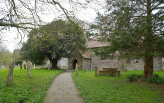 Holy Rood Shillingstone path