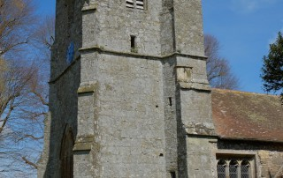 Holy Rood Shillingstone tower