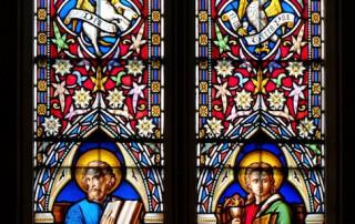 Holy Rood Shillingstone window