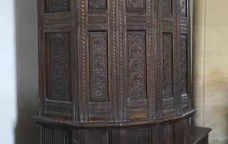St Paul's Hammoon pulpit